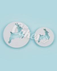 """Вырубка для мастики """"Олени"""", Италия"""