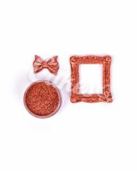 Кандурин - пищевые блестки, Цвет «Красная ИСКРА»
