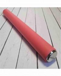Скалка из нержавеющей стали с силиконовым покрытием, 34 см
