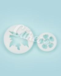 Выемка-штамп для мастики   «Лист и Цветок №2», Китай