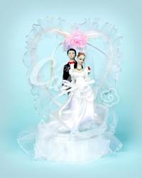 Керамические статуэтки Жениха и Невесты, HZ007