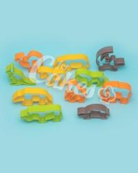 Вырубки для пряников, печенья набор «Зоопарк», 12 предметов