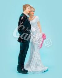 Керамические статуэтки Жениха и Невесты, 18513А