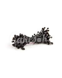Жемчужные тычинки для цветов из мастики «Черные», Китай