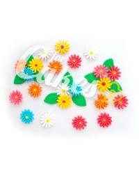 Сахарные цветы из мастики «Маргаритки маленькие», Казахстан
