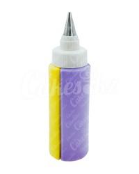 Шприц-бутылочка для двух цветов крема