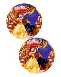 Вафельные картинки «Красавица и Чудовище»