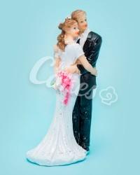Керамические статуэтки Жениха и Невесты, 18513В
