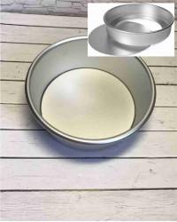 Алюминиевая форма для выпечки со съемным дном, 175х165х75 мм, 7inch