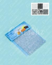 Текстурные пластиковые коврики «Мэнли», набор из 6 шт