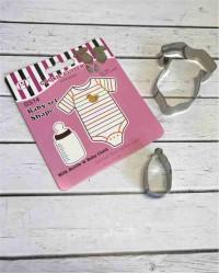 Вырубки для пряников, печенья набор «Боди и Бутылочка»