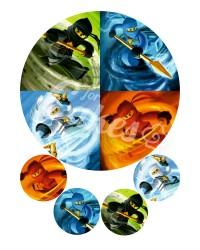 Вафельные картинки «Лего Ниндзяго»
