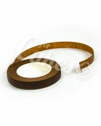 Тейп-лента для создания букетов, коричневая