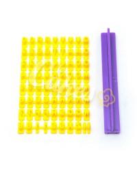 Штамп для мастики «Буквы» Английский алфавит, Китай