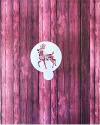 Трафарет-пленка для пряников, кофе «Олень», Китай