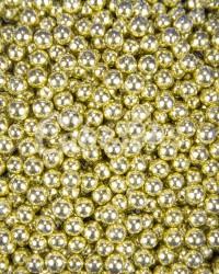 Посыпка кондитерская «Бисер Золото 3 мм»