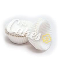 Капсулы бумажные для оформления и выпечки (тарталетки) белые, 500 шт