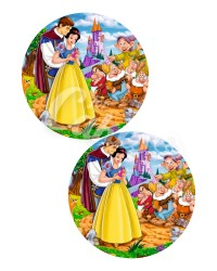 Вафельные картинки «Белоснежка и 7 гномов»