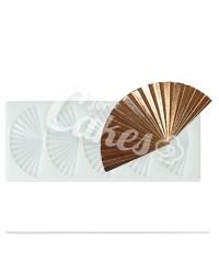 Силиконовый молд для шоколада, карамели, мастики, айсинга «Веер», Италия