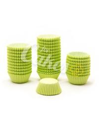 Капсулы бумажные для оформления и выпечки (тарталетки) однотонные Салатовые, 1000 шт