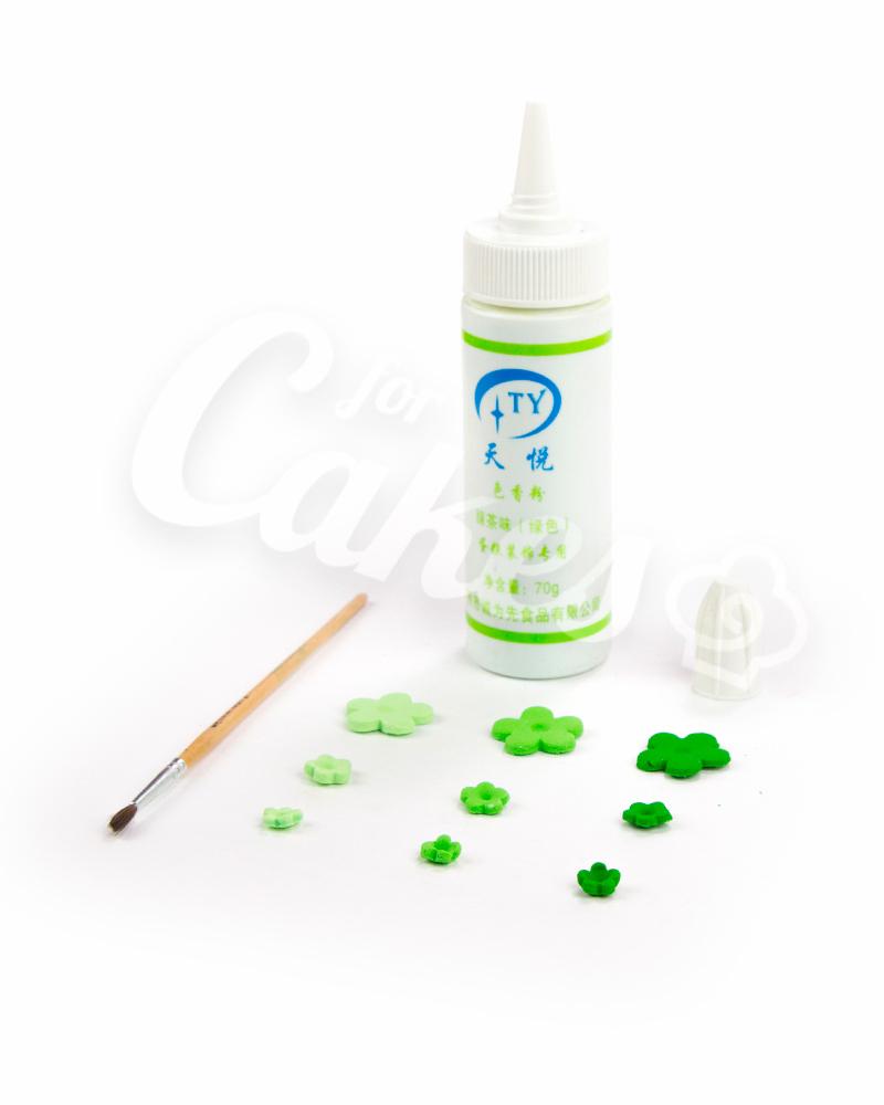 Измельченный пищевой мел «Зеленый»