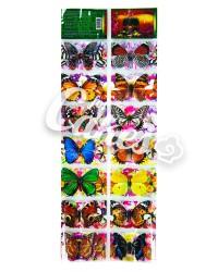Термопленка для украшения пасхальных яиц «Бабочки»