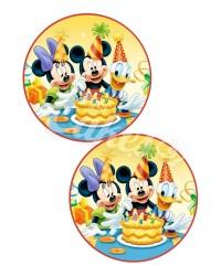 Вафельные картинки «Микки Маус»