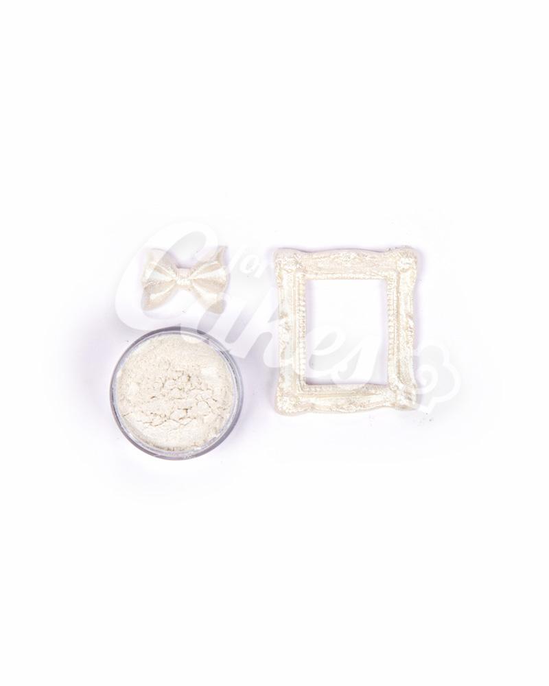 Кандурин - пищевые блестки, Цвет «Серебряный Блеск»