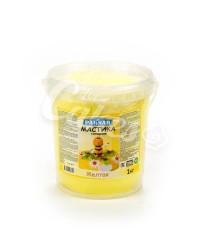 Сахарная мастика «Paknar» цвет Жёлтый, 1 кг