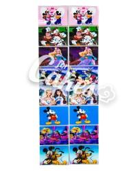 Термопленка для украшения пасхальных яиц «Микки Маус, Барби»
