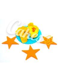 Сахарная фигурка из мастики «Золотая Рыбка», Казахстан