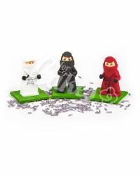 Сахарные фигурки из мастики «Лего Ниндзяго - Красный, Черный, Белый», Казахстан
