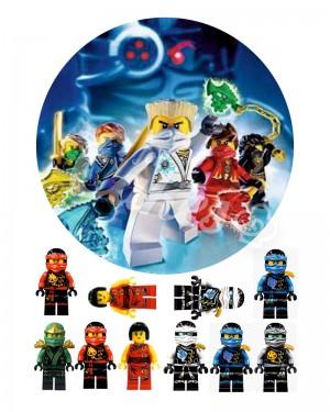 Вафельные картинки «Лего Ниндзяго» (14)