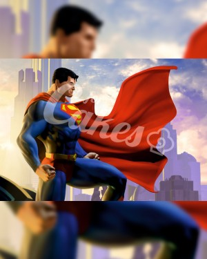 Вафельные картинки «СуперМен» (4)